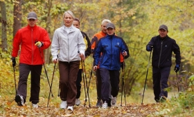 Percorsi di Nordic Walking - liberamentenatura